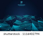 abstract technology blue color...   Shutterstock .eps vector #1116402794
