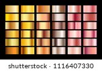 rose gold gradient collection... | Shutterstock .eps vector #1116407330