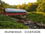 Creamery Covered Bridge Built...