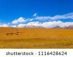 qinghai tibet plateau scenery... | Shutterstock . vector #1116428624