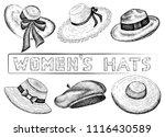 vector illustration of hand... | Shutterstock .eps vector #1116430589