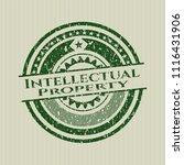 green intellectual property... | Shutterstock .eps vector #1116431906