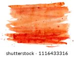 abstract watercolor brush... | Shutterstock . vector #1116433316