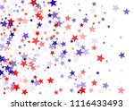 patriotic american stars... | Shutterstock .eps vector #1116433493