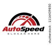 speed automotive logo design...   Shutterstock .eps vector #1116439850