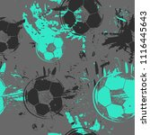 abstract seamless football... | Shutterstock .eps vector #1116445643