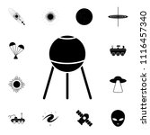 satellite icon. detailed set of ... | Shutterstock .eps vector #1116457340