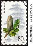 china   circa 1992  a stamp... | Shutterstock . vector #1116497600