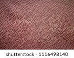 old and dirty brown leather... | Shutterstock . vector #1116498140