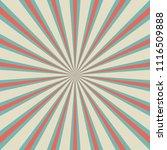 sunlight retro faded background.... | Shutterstock .eps vector #1116509888