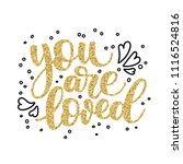 Hand Lettering You Are Loved ...