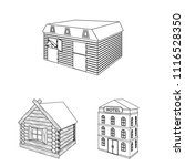 building and architecture... | Shutterstock . vector #1116528350