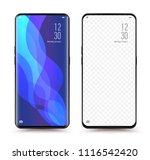 smartphone new release... | Shutterstock .eps vector #1116542420