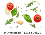 seamless pattern with fresh... | Shutterstock . vector #1116564629