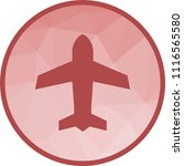 airplane mode icon | Shutterstock .eps vector #1116565580