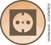 socket  plug  outlet | Shutterstock .eps vector #1116565814