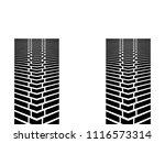tire truck simple vector design ... | Shutterstock .eps vector #1116573314