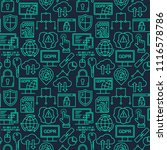 gdpr   general data protection... | Shutterstock . vector #1116578786