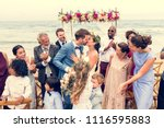 young caucasian couple's... | Shutterstock . vector #1116595883
