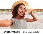 image of happy young excited... | Shutterstock . vector #1116617330