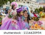 funchal  madeira  portugal  ... | Shutterstock . vector #1116620954