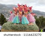 funchal  madeira  portugal  ... | Shutterstock . vector #1116623270