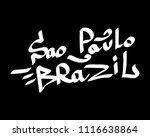 graffiti tags inscription... | Shutterstock .eps vector #1116638864