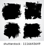 scribble symbols isolated on... | Shutterstock .eps vector #1116643649