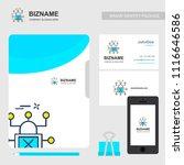 business brochure design with... | Shutterstock .eps vector #1116646586