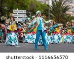 funchal  madeira  portugal  ... | Shutterstock . vector #1116656570
