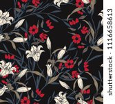 abstract elegance pattern with... | Shutterstock .eps vector #1116658613