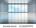 front big hall and wide window... | Shutterstock . vector #1116694994