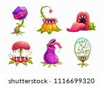 monster plans set illustration. ... | Shutterstock .eps vector #1116699320