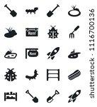 set of vector isolated black...   Shutterstock .eps vector #1116700136