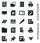 set of vector isolated black... | Shutterstock .eps vector #1116701639