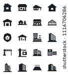 set of vector isolated black... | Shutterstock .eps vector #1116706286