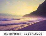 amazing hawaiian beach at... | Shutterstock . vector #1116715208