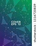 vector cover page layout.... | Shutterstock .eps vector #1116720839