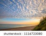 dawn by the sea  jurkalne ... | Shutterstock . vector #1116723080