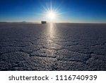 salar de uyuni at sunrise. salt ...   Shutterstock . vector #1116740939
