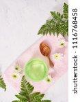 soothing gel aloe vera formula... | Shutterstock . vector #1116768458