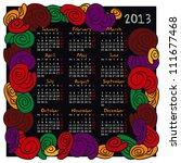 Calendar For 2013  Doodle ...