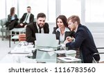 successful business team... | Shutterstock . vector #1116783560