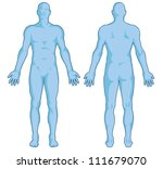 male body shapes        human... | Shutterstock .eps vector #111679070