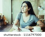 clever young indian student... | Shutterstock . vector #1116797000