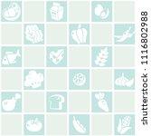 pastel blue seamless background ... | Shutterstock .eps vector #1116802988