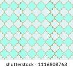 ottoman mosque vector seamless... | Shutterstock .eps vector #1116808763