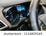modern car interior with...   Shutterstock . vector #1116829169