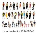 people vector | Shutterstock .eps vector #111683663