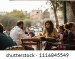 nazareth  israel   december 23...   Shutterstock . vector #1116845549